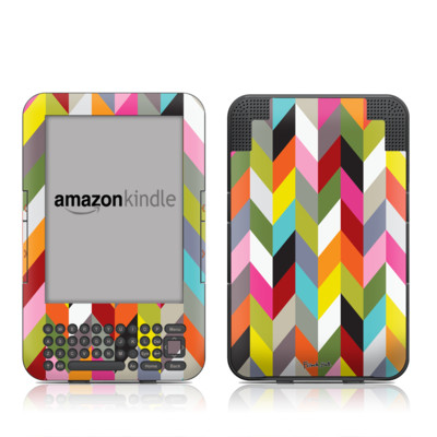 Kindle Keyboard Skin - Ziggy Condensed