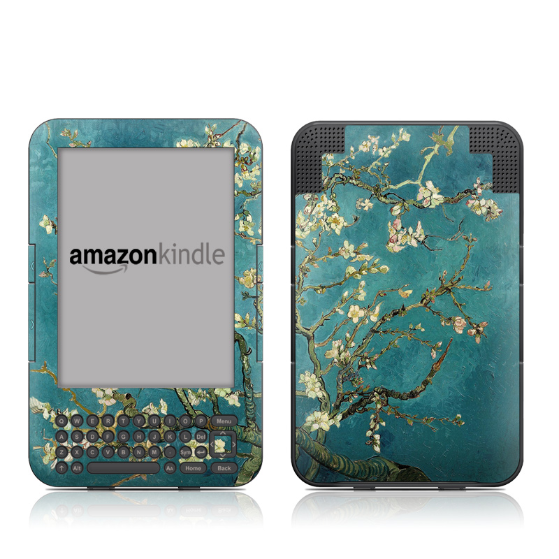 Kindle Keyboard Skin - Blossoming Almond Tree