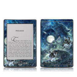 Kindle 4 Skin - Bark At The Moon