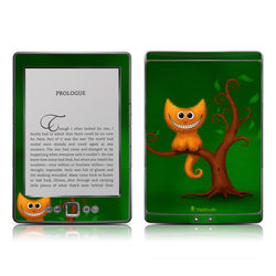 Kindle 4 Skin - Cheshire Kitten