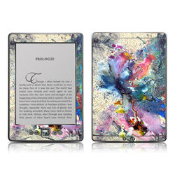 Kindle 4 Skin - Cosmic Flower