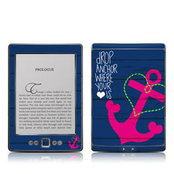 Kindle 4 Skin - Drop Anchor
