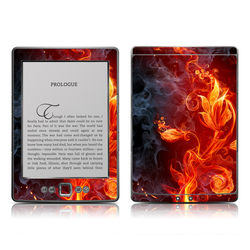 Kindle 4 Skin - Flower Of Fire