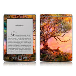 Kindle 4 Skin - Fox Sunset