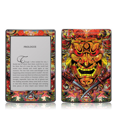 Kindle 4 Skin - Asian Crest
