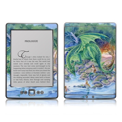 Kindle 4 Skin - Of Air And Sea