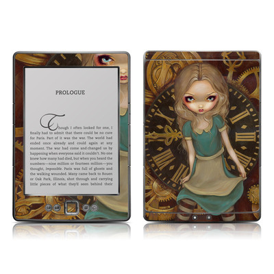 Kindle 4 Skin - Alice Clockwork