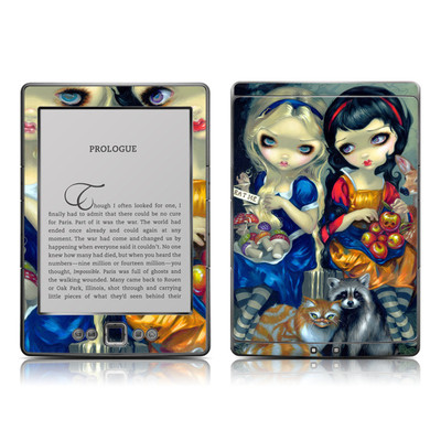Kindle 4 Skin - Alice & Snow White