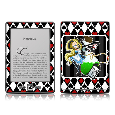 Kindle 4 Skin - Alice