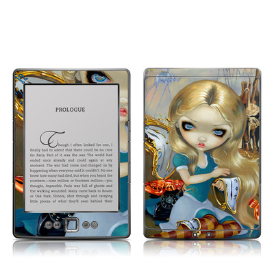 Kindle 4 Skin - Alice in a Dali Dream