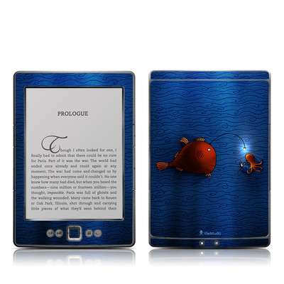 Kindle 4 Skin - Angler Fish