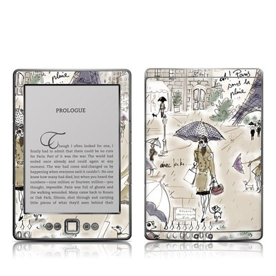 Kindle 4 Skin - Ah Paris