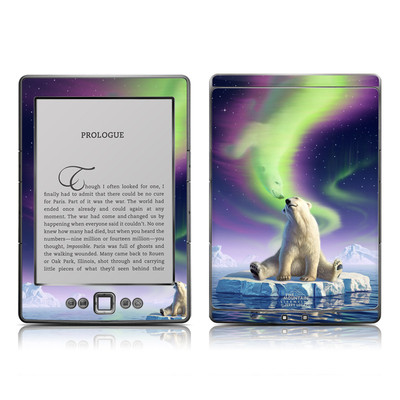 Kindle 4 Skin - Arctic Kiss