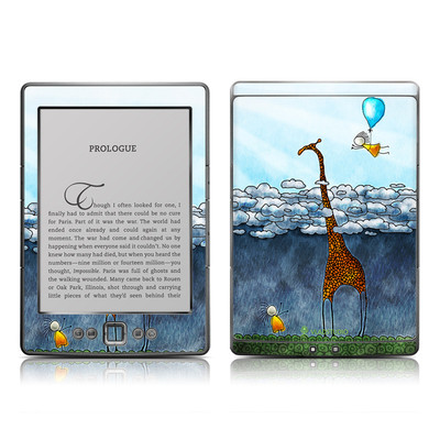 Kindle 4 Skin - Above The Clouds