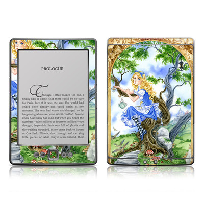 Kindle 4 Skin - Alice's Tea Time