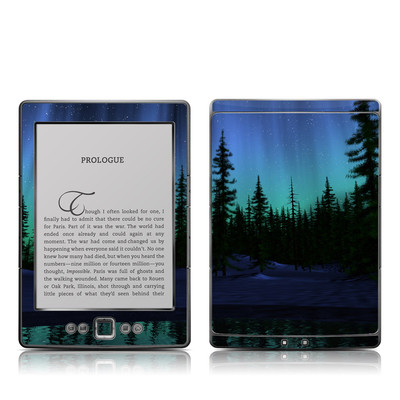 Kindle 4 Skin - Aurora