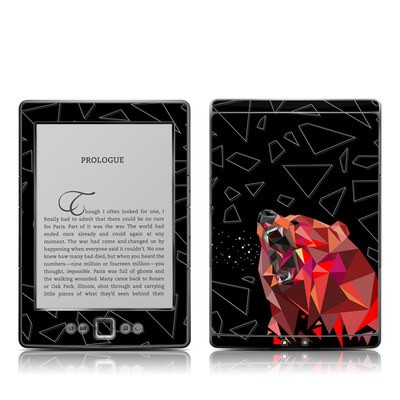 Kindle 4 Skin - Bears Hate Math