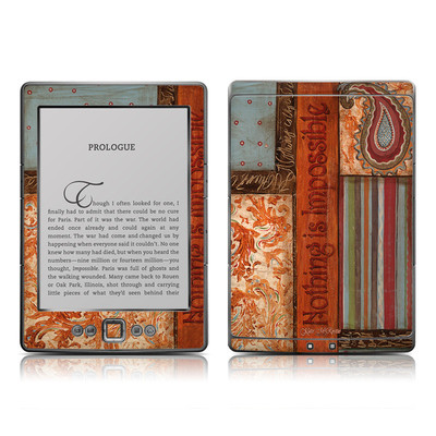 Kindle 4 Skin - Be Inspired
