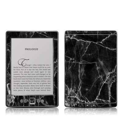 Kindle 4 Skin - Black Marble