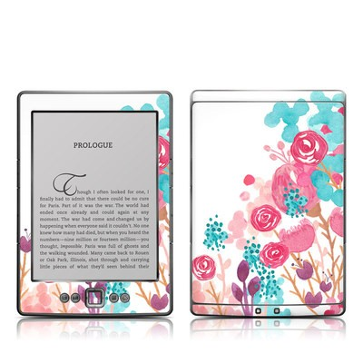 Kindle 4 Skin - Blush Blossoms