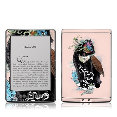 Kindle 4 Skin - Black Magic