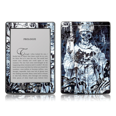Kindle 4 Skin - Black Mass