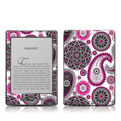 Kindle 4 Skin - Boho Girl Paisley