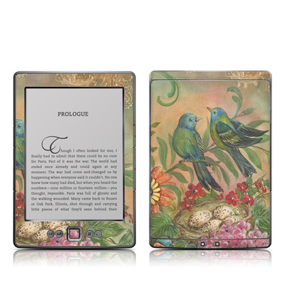 Kindle 4 Skin - Splendid Botanical