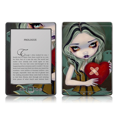 Kindle 4 Skin - Broken Heart