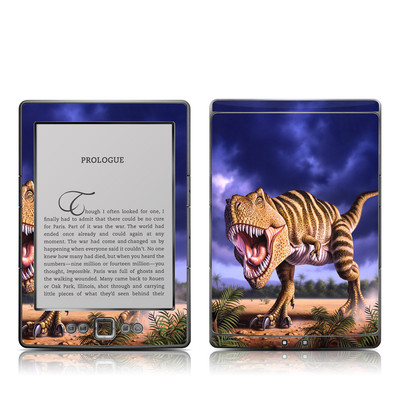 Kindle 4 Skin - Brown Rex