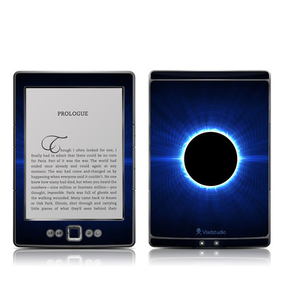 Kindle 4 Skin - Blue Star Eclipse