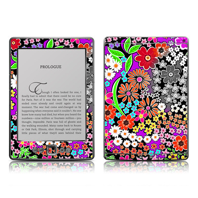 Kindle 4 Skin - A Burst of Color