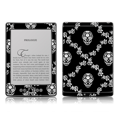 Kindle 4 Skin - Calavera Lattice