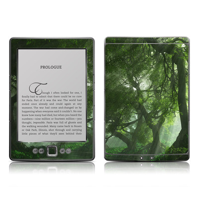 Kindle 4 Skin - Canopy Creek Spring