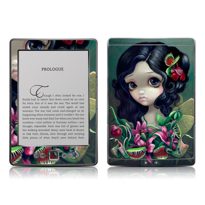 Kindle 4 Skin - Carnivorous Bouquet