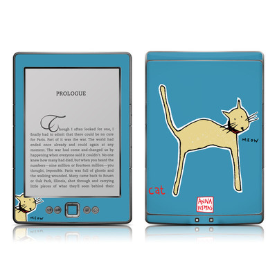Kindle 4 Skin - Cat