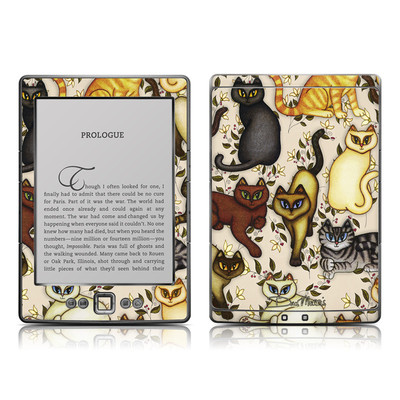 Kindle 4 Skin - Cats