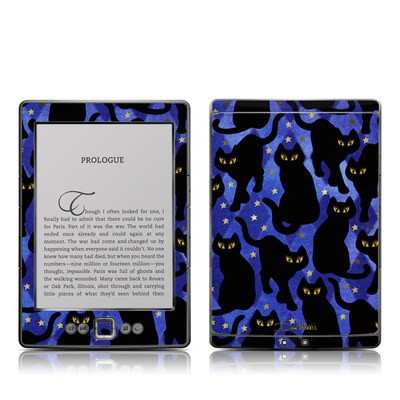 Kindle 4 Skin - Cat Silhouettes