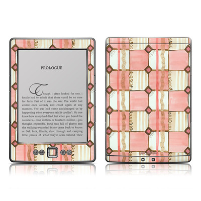 Kindle 4 Skin - Chic Check