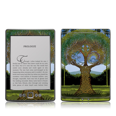 Kindle 4 Skin - Celtic Tree