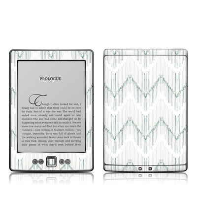 Kindle 4 Skin - Chic Chevron