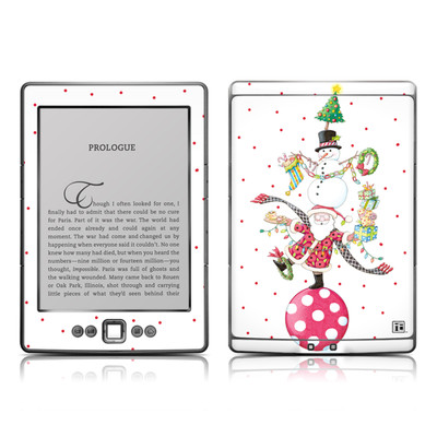 Kindle 4 Skin - Christmas Circus
