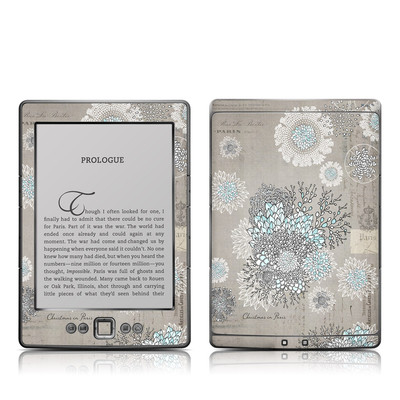 Kindle 4 Skin - Christmas In Paris