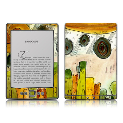 Kindle 4 Skin - City Life