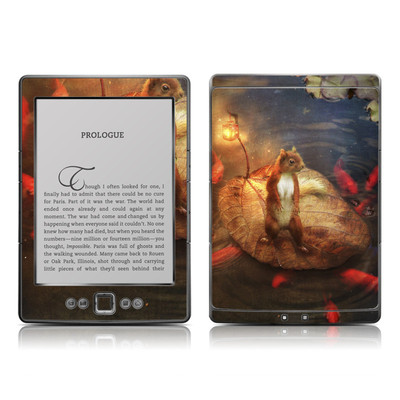 Kindle 4 Skin - Columbus