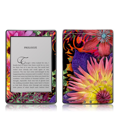 Kindle 4 Skin - Cosmic Damask