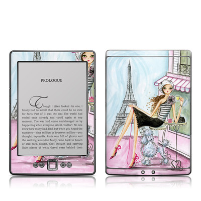 Kindle 4 Skin - Cafe Paris