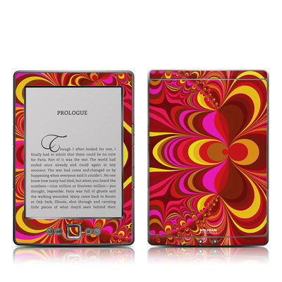 Kindle 4 Skin - Cyclotomic Contours