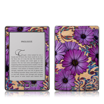 Kindle 4 Skin - Daisy Damask