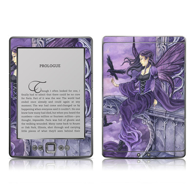 Kindle 4 Skin - Dark Wings